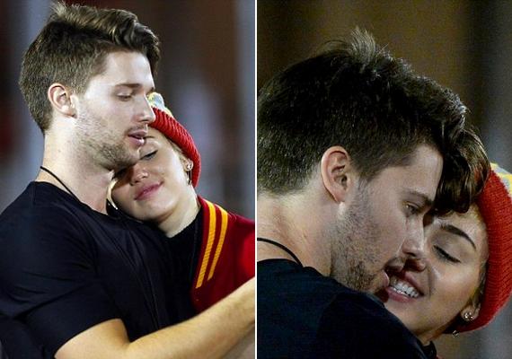 Patrick és Miley románcáról már napok óta folytak a találgatások, de most bebizonyosodott, hogy együtt vannak.