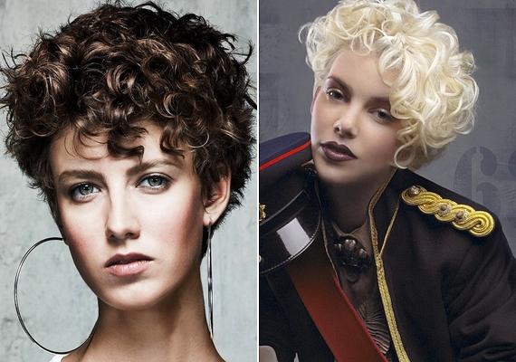 Göndör hajúaknak érdemes kipróbálni a rövid frizurát, mert az könnyen kezelhető, és sokkal rendezettebb, egészségesebb hatást kelt, mint a hosszú haj ebből a hajtípusból.
