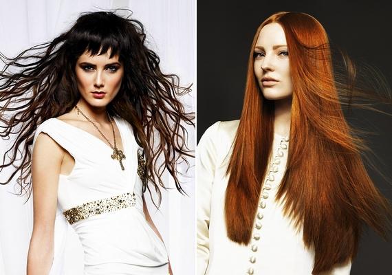 A derékig érő haj kifinomultságot, nőiességet és érzelmességet árul el viselőjéről.