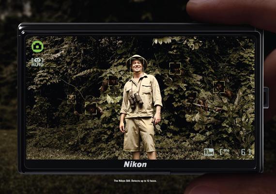 A Nikon hirdetése alapján levonható az a következtetés, hogy mindig nézz a hátad mögé.