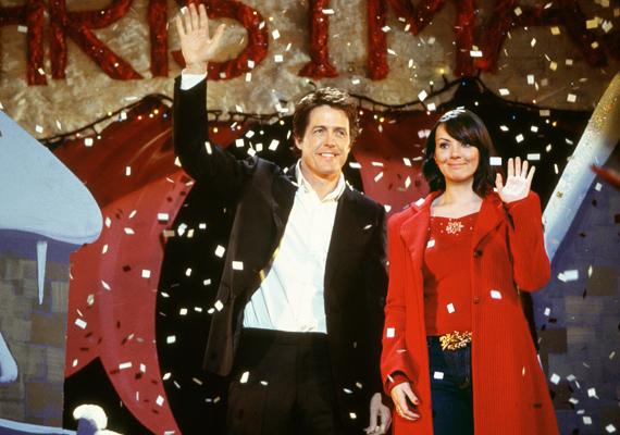 A sztárok tömegeit felvonultató Igazából szerelem ízig-vérig romantikus komédia.
