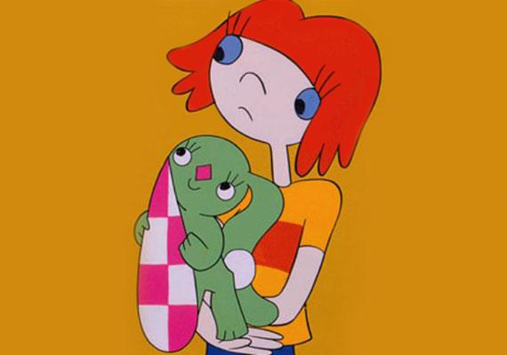 A kockásfülű nyúl a Pannónia Filmstúdió rajzfilmsorozata, forgatókönyvét Marék Veronika írta, a mesét Richly Zsolt rendezte.
