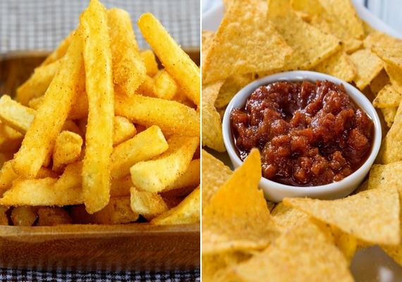 Szeretsz sült krumplit majszolni ketchuppal? Inkább egyél helyette tortillachipset salsa szósszal! Kevesebb benne az olaj, a cukor és a szénhidrát.