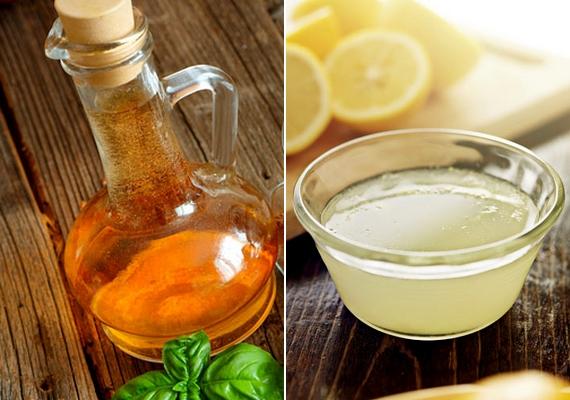 Diétássá teszi a salátádat, ha olaj helyett citromlével locsolod meg a tálalás előtt, ráadásul ettől még egy kis pikáns ízt is kap.