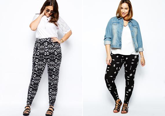 A mintás nadrágok még több plusz kilót csalnak a combokra - ha amúgy is vastagabbak a lábaid, érdemes ezt a viseletet kerülni.