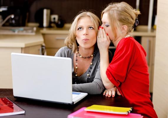 Ne pletykálkodj! Ha megtudsz valami érdekes információt egy munkatársról, akkor is bírd ki, hogy nem adod tovább.