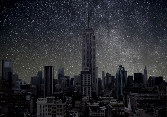 Ilyen lenne New York, ha csak a természetes fény világítaná be.