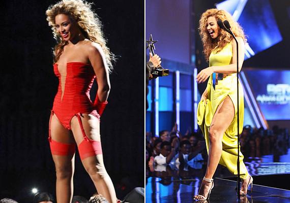 Az utóbbi időben Beyoncé sem veti meg a vad bulikat, ez a combján is jól látszik.
