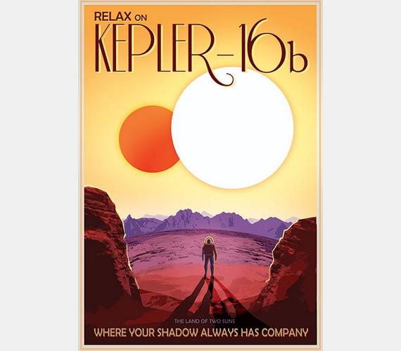 """""""Pihenj a Kepler-16b-n, a két nap földjén, ahol az árnyékodnak mindig van társasága!"""""""