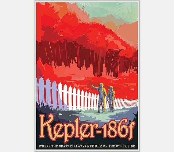 """""""Kepler-186f. Ahol a szomszéd fűje mindig pirosabb."""""""