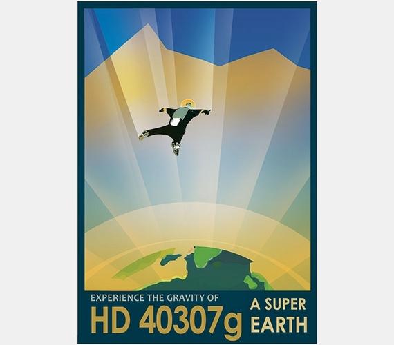 """""""Tapasztald meg a HD 40307 gravitációját! Egy szuper-Föld!"""""""