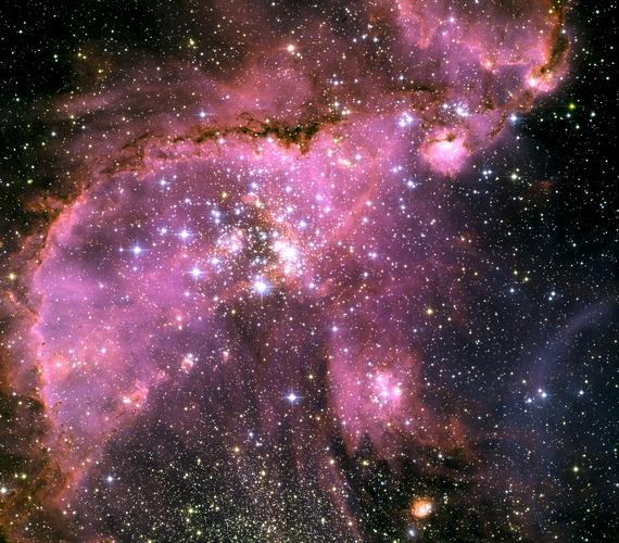 Így szikráznak a fiatal csillagok.