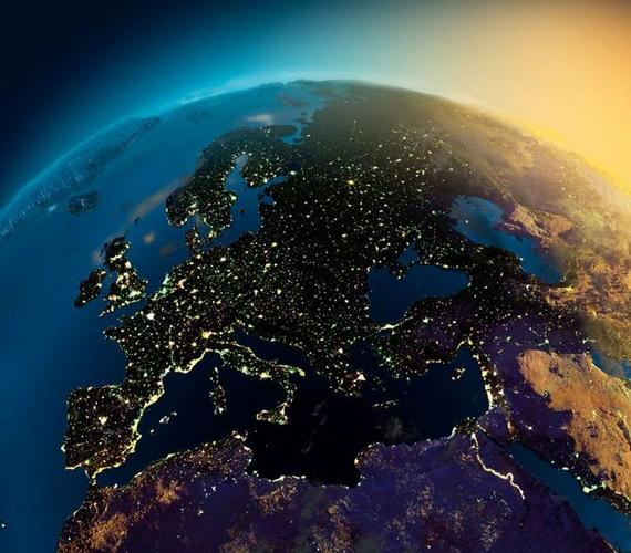 Íme, a Föld éjszaka, egy kicsit távolabbról.