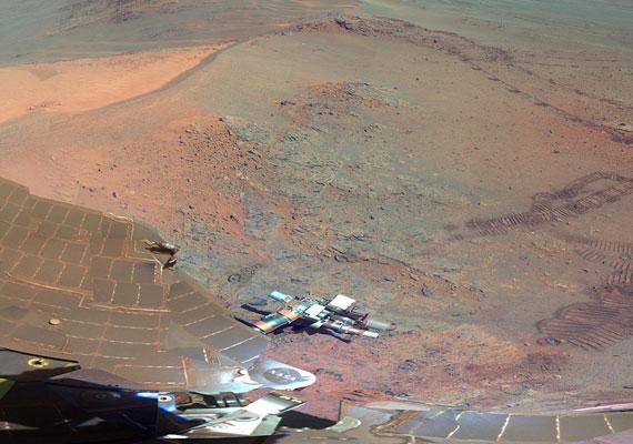 Tél a Marson.