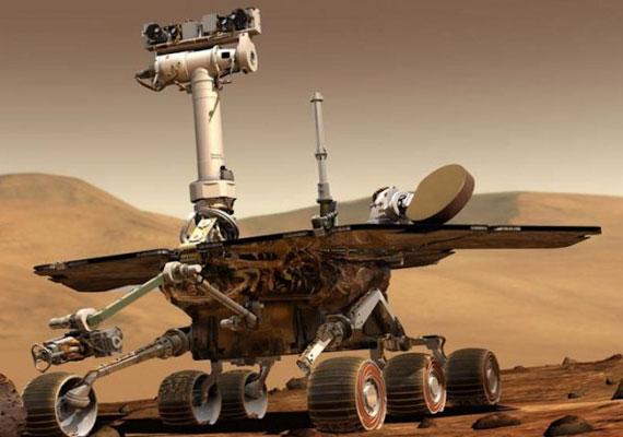 Így néz ki a marsjáró a NASA egyik illusztrációja szerint.