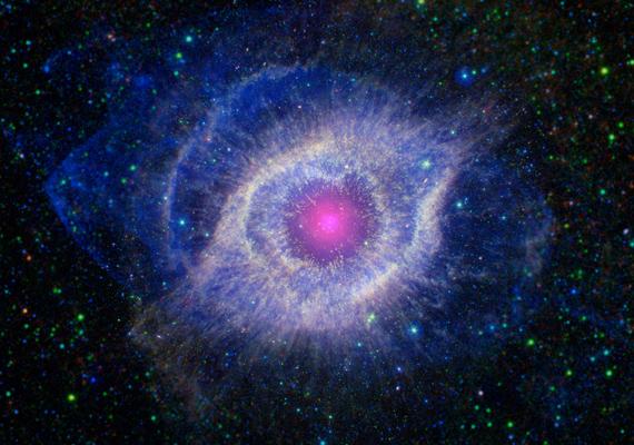 Így fest egy haldokló csillag. A nagy felbontású képet itt töltheted le! »