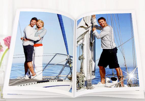 Ajándékozz CEWE fotókönyvet, így számos letölthető designelem segítségével szerkesztheted meg személyes fényképes ajándékodat.