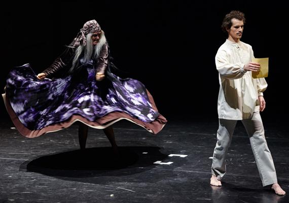 GG Tánc Eger és Dunaújvárosi Bartók Táncszínház: Szaffi; fotó: Dusa Gábor