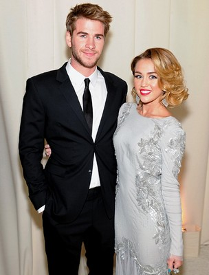 Miley Cyrus és Liam Hemsworth