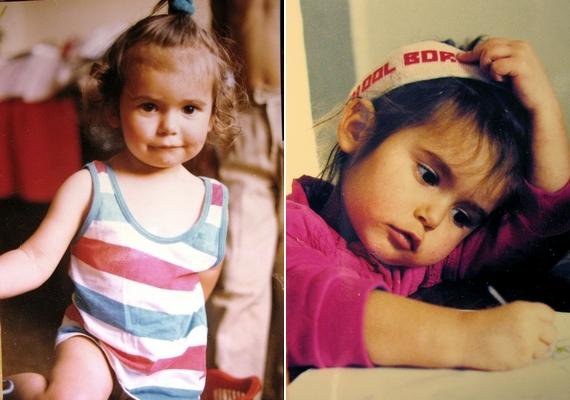 Tündéri, pufi arcú gyerek volt Nina Dobrev. A szégyellős kislányból világhírű színésznő lett.