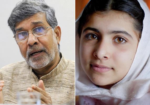 A pakisztáni Malala Juszufzai és az indiai Kailás Szatjárti kapta a Nobel-békedíjat. Az indoklás szerinta díjat a gyermekek és fiatalok elnyomása ellen és minden gyerek tanuláshoz való jogáért folytatott küzdelmükért ítélték nekik.