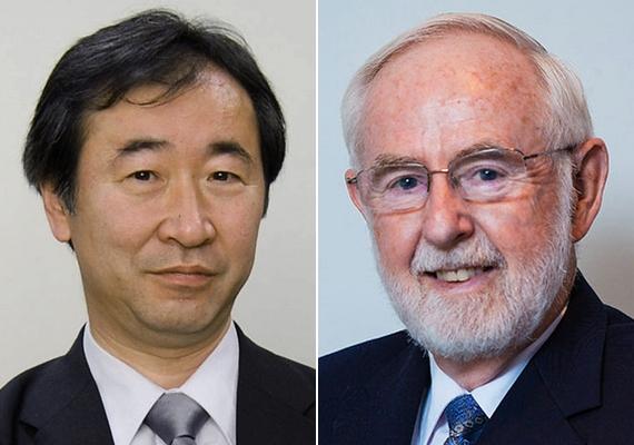 A neutrínóoszcilláció felfedezéséért Kadzsita Takaaki japán és Arthur B. McDonald kanadai tudós kapja az idei fizikai Nobel-díjat a Svéd Királyi Tudományos Akadémia keddi stockholmi bejelentése szerint. A felfedezés bizonyította, hogy a neutrínóknak van tömegük - fogalmazott indoklásában az illetékes bizottság. Kadzsita a Tokiói Egyetem, McDonald pedig a kingstoni Queen's Egyetem munkatársa.