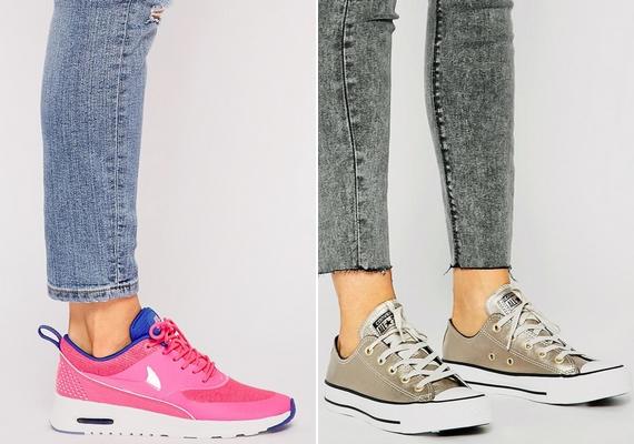 Egy jó minőségű edzőcipő vagy tornacipő is jól jöhet, mert ha épp nincs hideg, még a hétköznapokra is felveheted, és a testmozgáshoz is szükséged lesz rá.