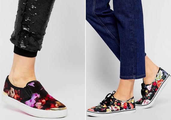 A vászoncipő hasonló funkciót tölt be, mint a balerinacipő, csak zártabb és melegebb, de ugyanúgy felveheted farmernadrághoz és bizonyos szoknyákhoz is.