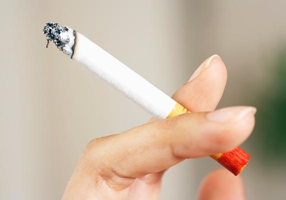 Nem illik úgy bemutatkozni, hogy közben cigit tartasz a kezedben. Tedd le addig valahová, amíg kezet fogsz egy idegennel!