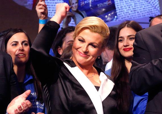 Kolinda Grabar-Kitarović a jobbközép Horvát Demokratikus Közösség jelöltje volt a köztársasági elnöki székbe. A második fordulóban két jelölt, az eddigi államfő, Ivo Josipovic és Grabar Kitarovic maradt versenyben, és egy hajszállal utóbbi nyert. Az új államfő 1968-ban született Fiumében - Rijeka -, gyerekkorát pedig az Egyesült Államokban töltötte. Végzettségét tekintve a politikatudományok doktora és képzett diplomata. Elsődleges feladatának a válságkezelést és a korrupció megfékezését nevezte.