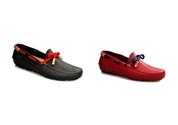 Az idei nyár új slágere a műanyag cipő. Egyelőre nem terjedt el visszafordíthatatlanul, de reméljük, nem is fog.