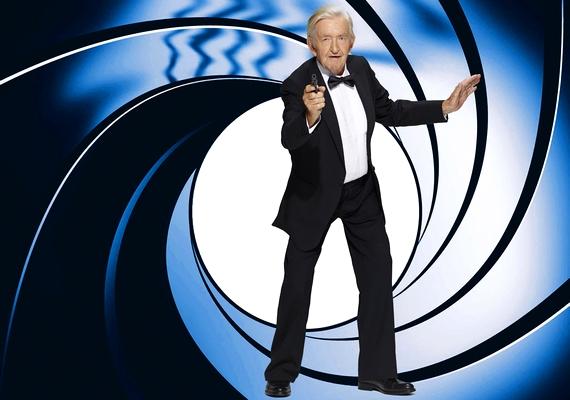 A 89 éves James Bond szerepében: Buiting. Wilhelm Buiting.