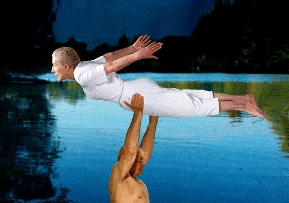 A Dirty Dancing legemlékezetesebb jelenetét a 92 éves Johann Liedtke és a 79 éves Marianne Pape jelenítette meg.