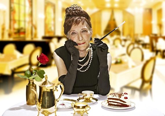 Álom luxuskivitelben a 86 éves Marianne Brunsbach-hal.