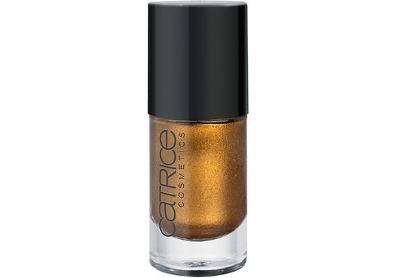 A Catrice aranyszínű Oh My Goldness körömlakkja 749 forintba kerül.