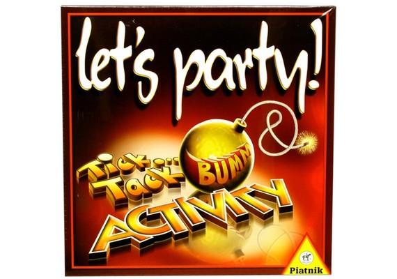 Ez a különleges társasjáték az Activity és a Tick Tack Bumm ötvözete, amelyek külön-külön is nagyon sikeresek, de így együtt igazán vidám estét varázsolnak a játékosoknak. A Let's Party 4490 forinttól kapható.