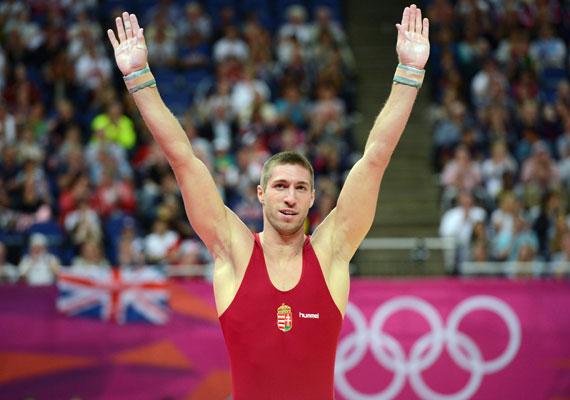 Berki Krisztián lólengésben nyerte meg az aranyat.
