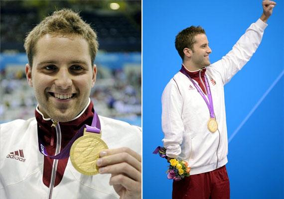 Sors Krisztián szintén a paralimpiáról hozott haza aranyat 100 méteres pillangóúszásban.