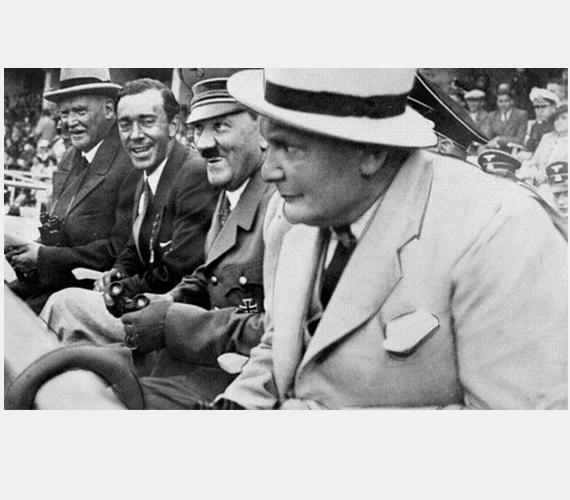 Hitlerék náci propagandára használták fel az eseményt.