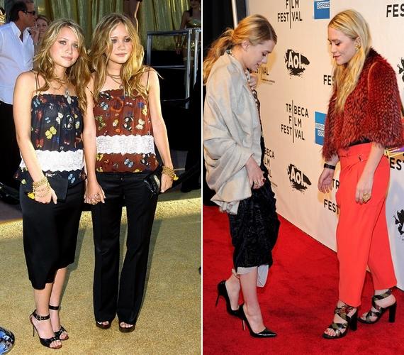 Az évek során nemcsak a külsejük, de az öltözködésük is megváltozott.