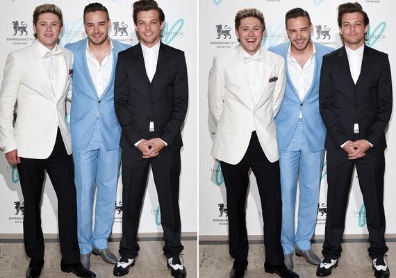 Ezek voltak azok a fotók, amelyek megijesztették a rajongókat: Niall Horan, Liam Payne és Zayn Malik egy londoni jótékonysági esten jelent meg Harry Styles nélkül.