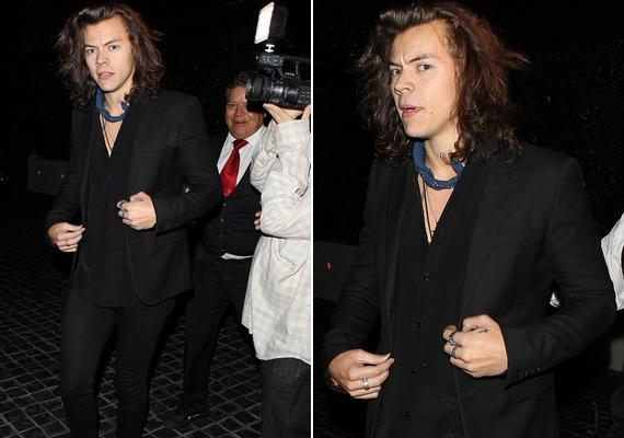 Harry eközben Los Angelesben nyaral, ám szó sincs arról, hogy otthagyta volna az együttest, mindössze megérdemelt szabadságát tölti.