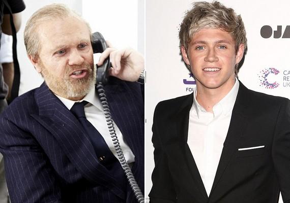 Niall Horan a nagymenő üzletembert, Sir Alan Sugart alakítja.