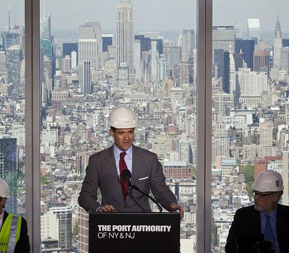 Kilátás a 71. emeletről.