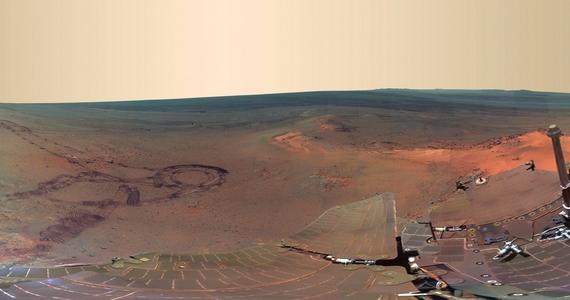 2011 decembere és 2012 májusa között817 különböző felvételt készített a marsjáró az Endeavour-kráter környékéről, melyeket végül egyetlen panorámaképbe illesztett össze.