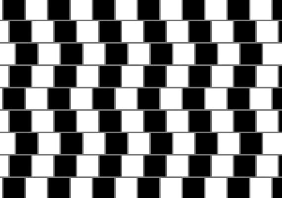 A vonalak elméletileg teljesen egyenesek, te is így látod?