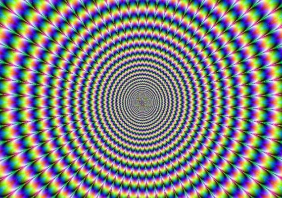 Te is látod, ahogy vibrálnak a körök?