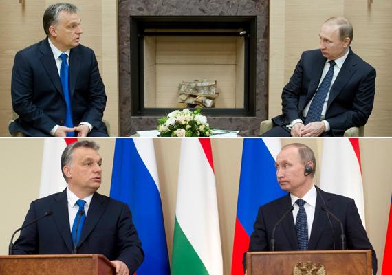 Putyin feszülten figyelte a magyar kormányfőt, az arcizmai sem rándultak.