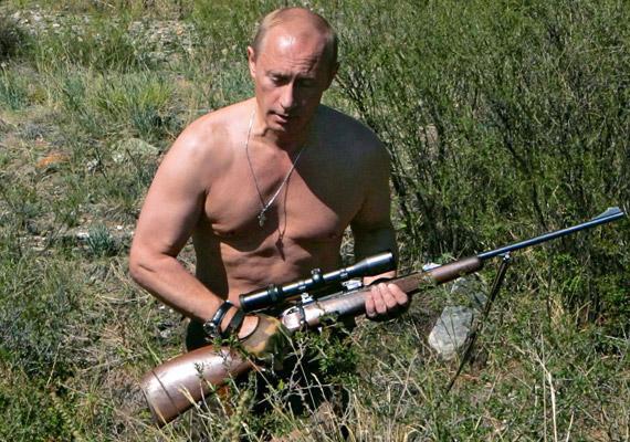Putyin imázsába nem fér bele a gyorsétterem, főleg, hogy a McDonald's éttermeket egész Oroszországban sorra zárják be. Vlagyimir Vlagyimirovics elő tudja teremteni a saját vacsoráját - üzeni a fénykép.