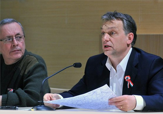 A dühös Orbán a márciusi hóhelyzet után.